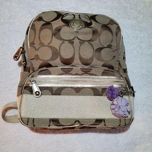 COACH Tan Backpack